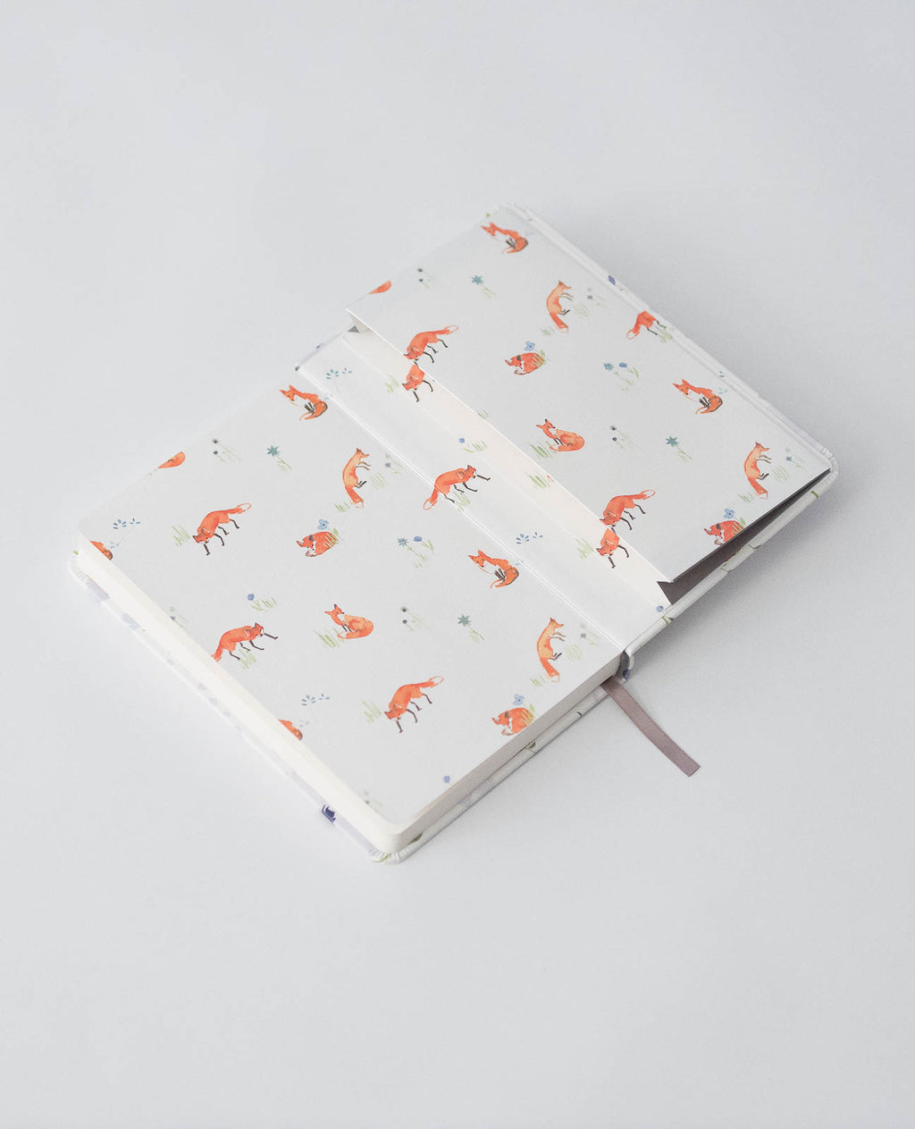 Hard Cover Journal - Blue Windflower