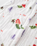 Cotton Muslin Sleep Bag - Mermaid