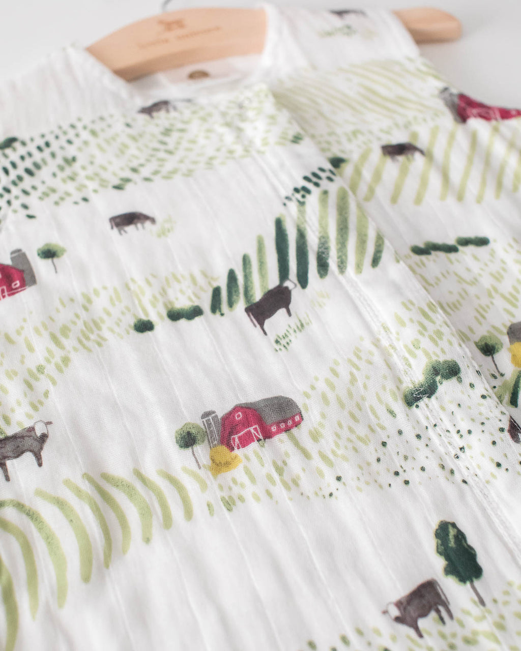 Cotton Muslin Sleep Bag - Rolling Hills