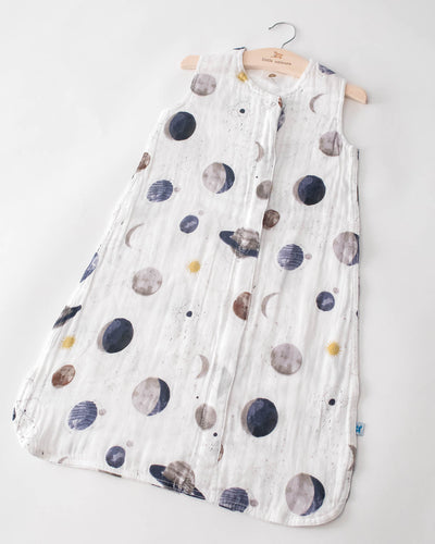 Cotton Muslin Sleep Bag - Planetary