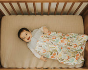Cotton Muslin Quilted Sleep Bag - Meadow