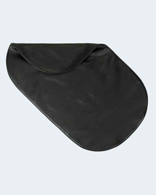 Vegan Leather Changing Pad - Black