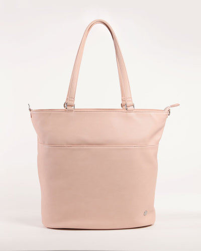 Citywalk Tote Blush - Brushed Nickel Hardware