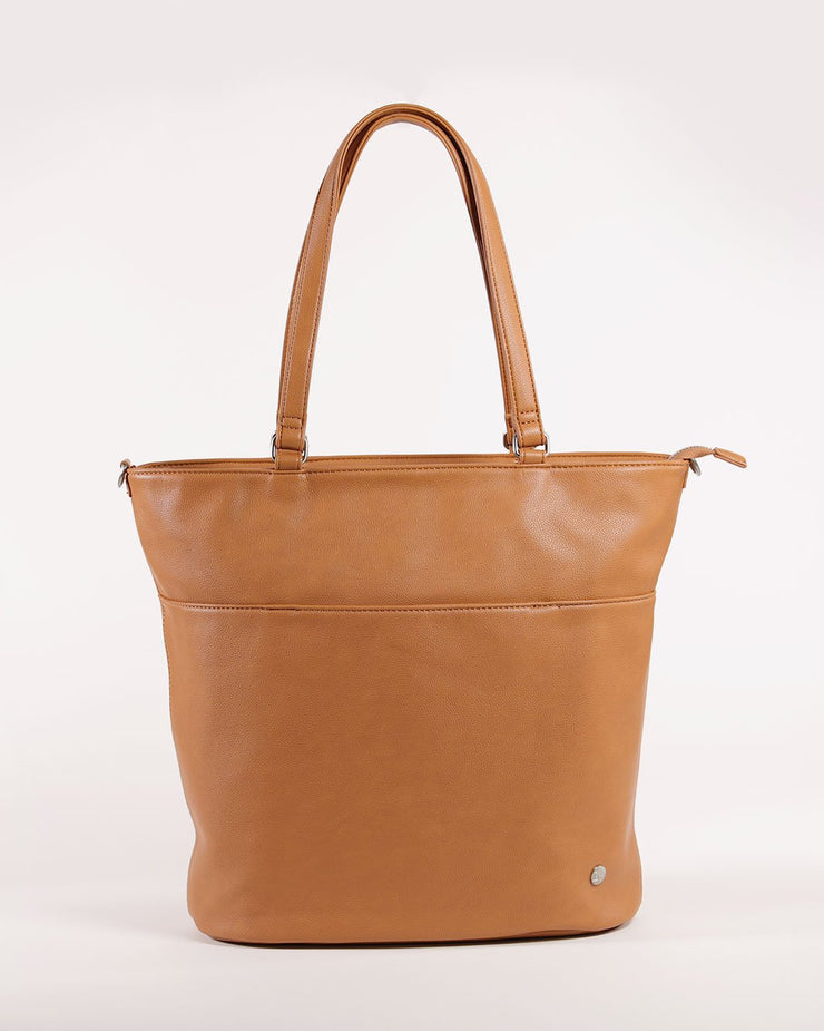 Citywalk Tote Cognac - Brushed Nickel Hardware