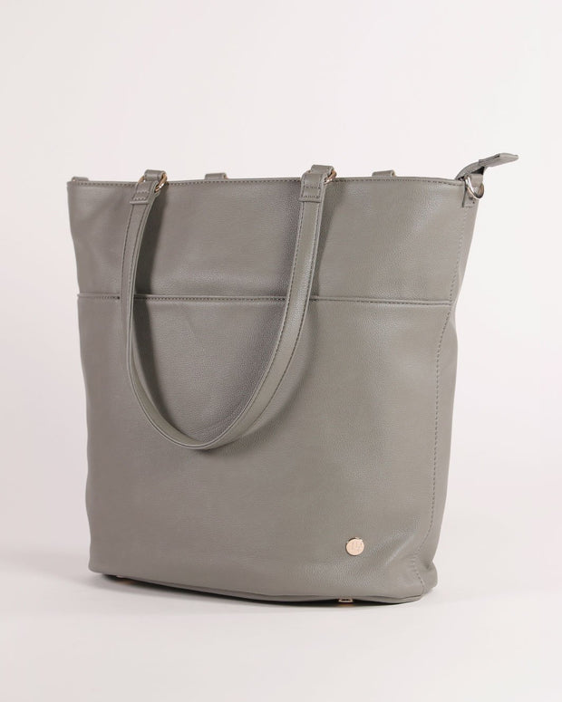 Citywalk Tote Grey Umber - Gold Hardware