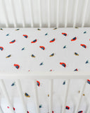 Cotton Muslin Crib Sheet - Little Wings