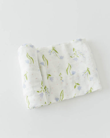 Deluxe Swaddle - Bluebell