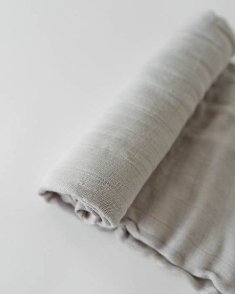Deluxe Swaddle - Warm Grey