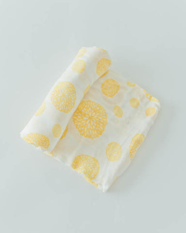 Deluxe Swaddle - Yellow Burst