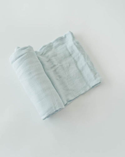 Deluxe Swaddle - Cloud Blue