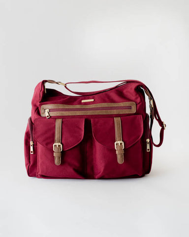 Rambler Satchel - Pomegranate