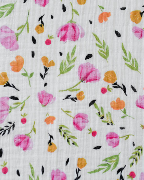 Organic Cotton Swaddle - Berry & Bloom