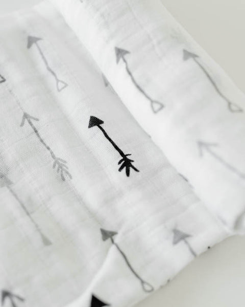 Cotton Swaddle - Arrow