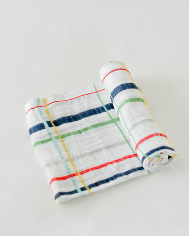 Cotton Swaddle - Plaid