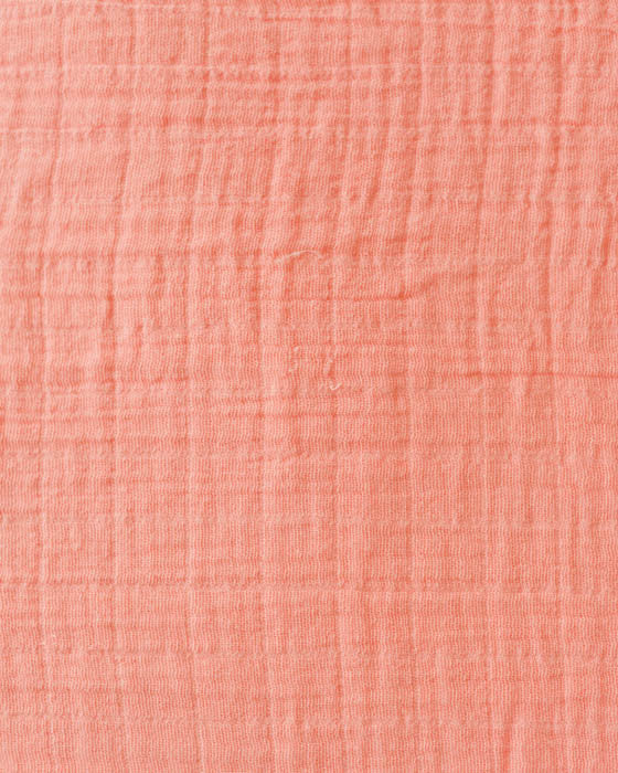 Cotton Swaddle - Coral