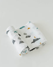 Cotton Swaddle - Lava Lava