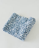 Cotton Swaddle - Blue Topaz