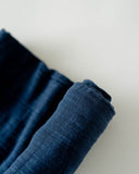 Cotton Swaddle - Indigo Wash