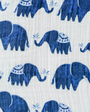 Cotton Swaddle - Indie Elephant