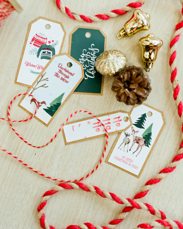 Holiday Gift Tags 2019