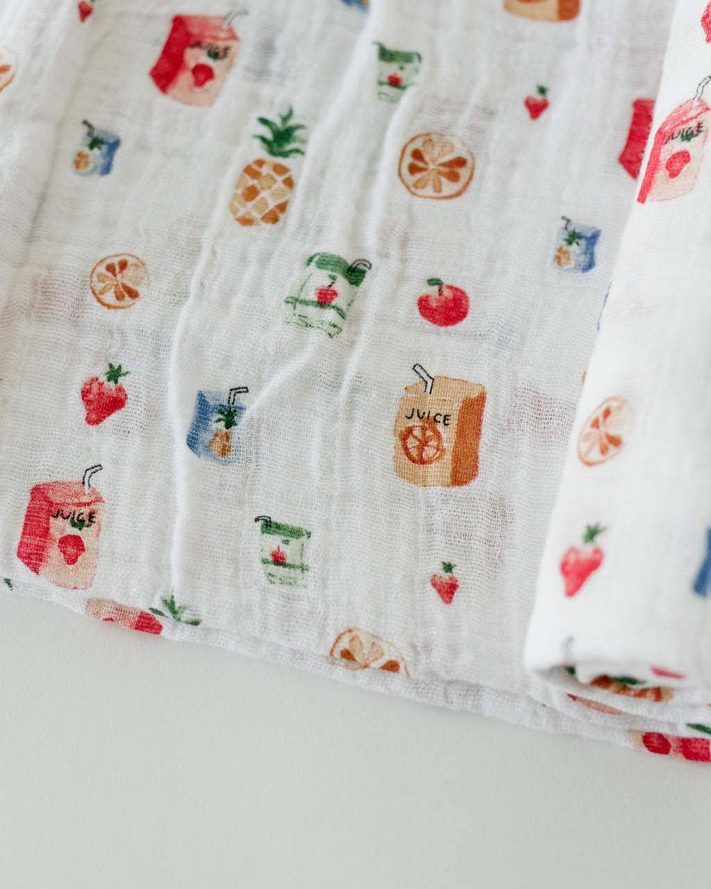 LU + The Boss Baby Cotton Swaddle - Juice Box