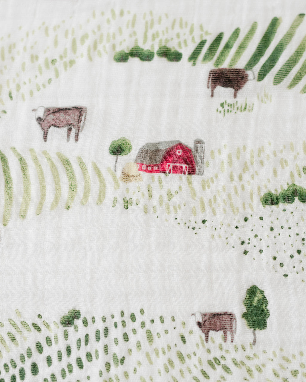 Cotton Swaddle - Rolling Hills