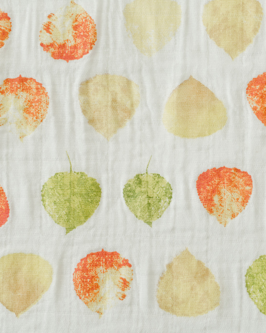 Cotton Swaddle - Aspen Leaf