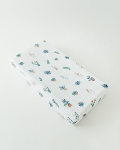 Cotton Changing Pad Cover - Prickle Pots