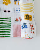 Cotton Swaddle - Beach Bag