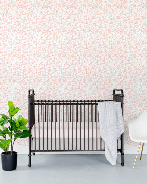 Removable Wallpaper - Garden Rose