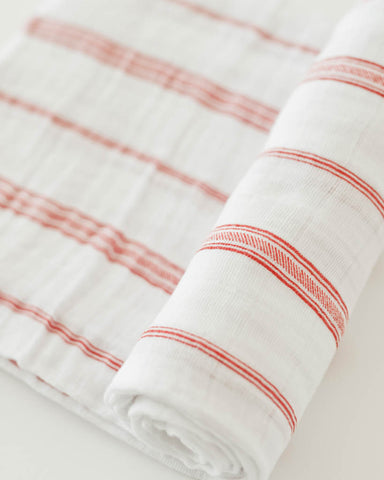 Cotton Swaddle - Grain Sack