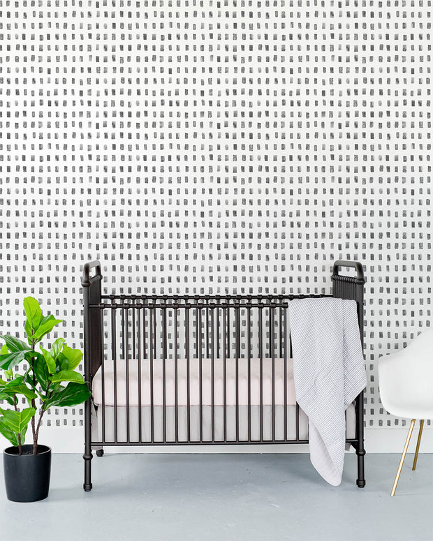 Removable Wallpaper - Gray Tiles