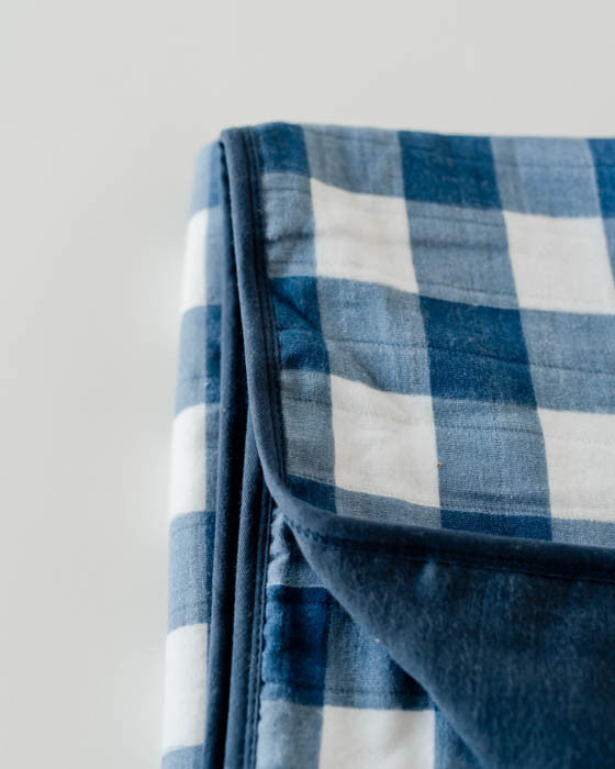 Brushed Muslin Quilt - Jack Plaid