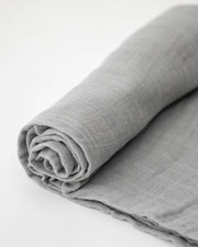 Cotton Muslin Swaddle Blanket - Nickel