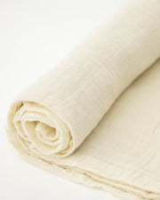 Cotton Muslin Swaddle Blanket - Linen