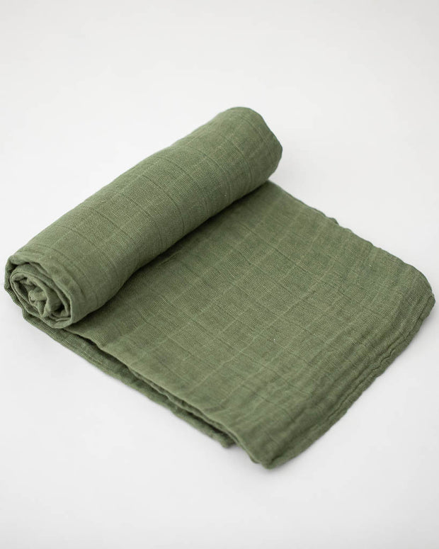 Cotton Swaddle - Fern