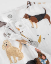 Cotton Muslin Romper  - Woof