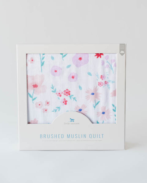 Brushed Muslin Quilt - Morning Glory