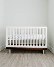 Percale Crib Sheet - Arrow