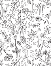 Downloadable Coloring Pages - Primrose Patch