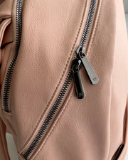 Skyline Backpack Blush - Dark Gunmetal Hardware