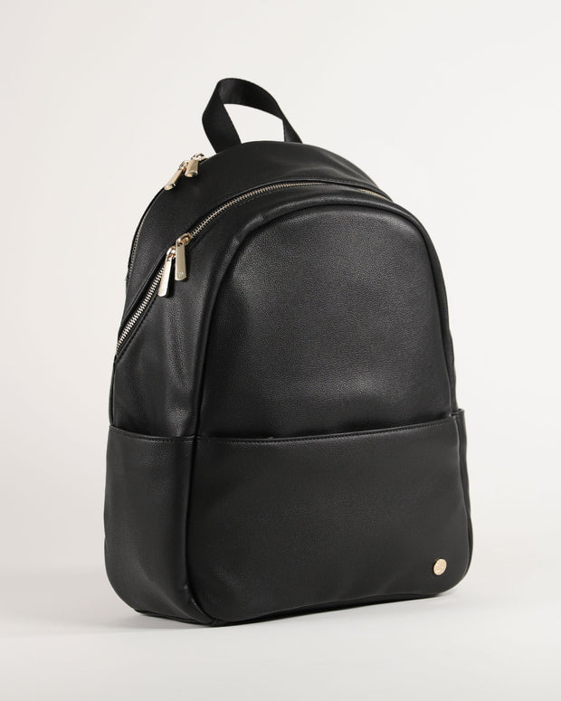 Skyline Backpack Black - Gold Hardware