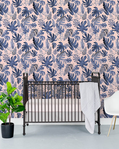 Removable Wallpaper - Tropical Pink