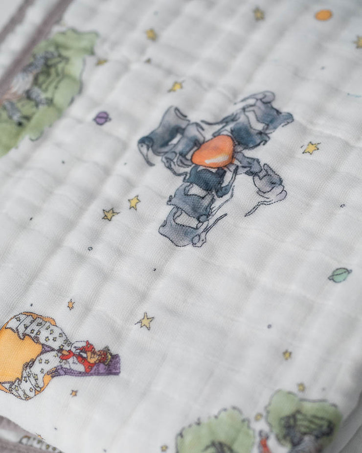 Little Prince Cotton Muslin Quilt - The Little Prince