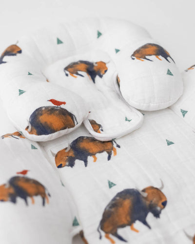 Cotton Muslin Body Support - Bison