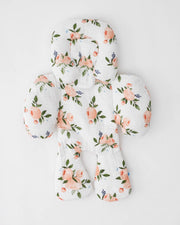 Cotton Muslin Body Support - Watercolor Roses