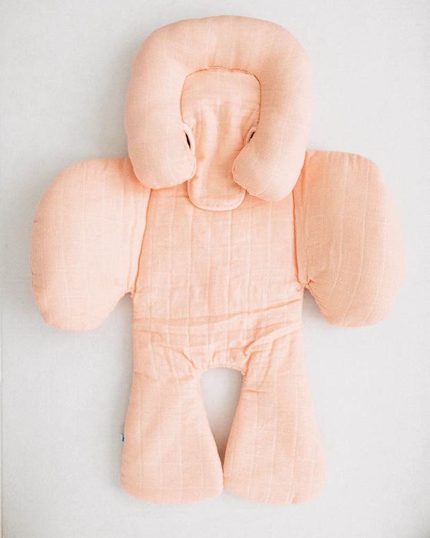 Cotton Muslin Body Support - Blush