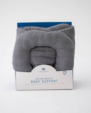Cotton Muslin Body Support - Charcoal