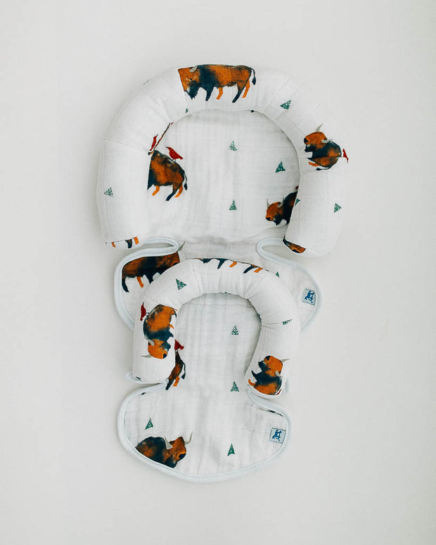 Cotton Muslin Head Support - Bison