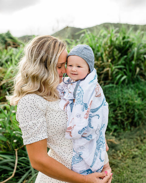 LU + Jurassic World Cotton Swaddle - Paleontologic